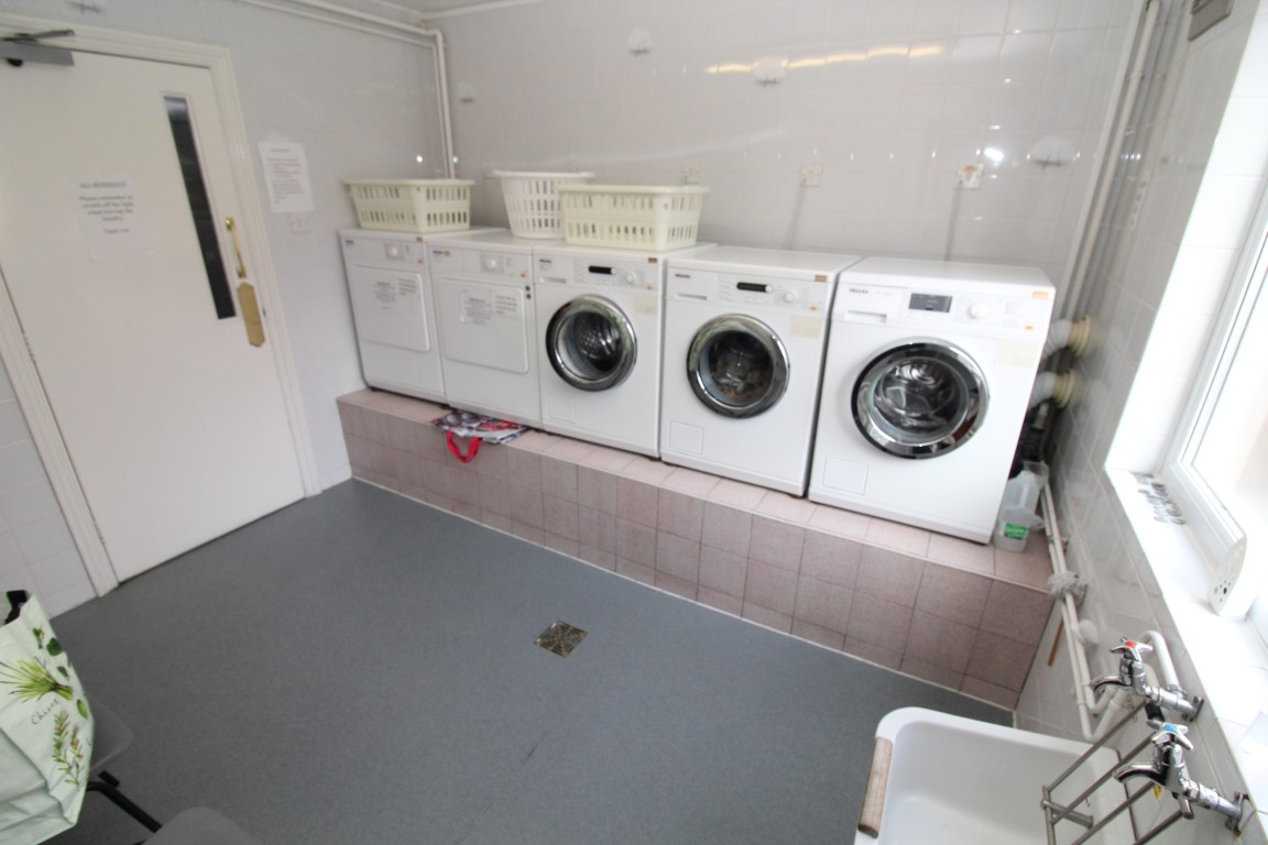 Communal Laundry Room